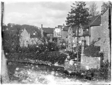 Buildings by Midford Mill c.1910