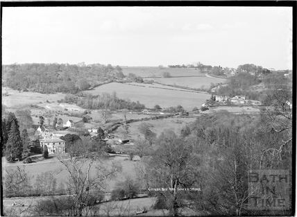 Combe Hay and Southstoke view c.1930s