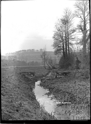 The abandoned Somersetshire Coal Canal, near Midford c.1904