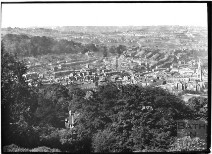 A view of Bath looking West No. 5 c.1930