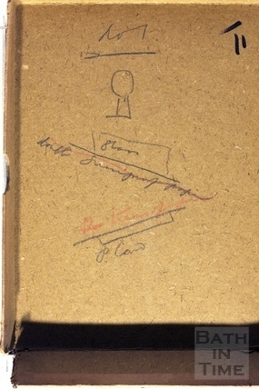 The photographer's notes c.1930s