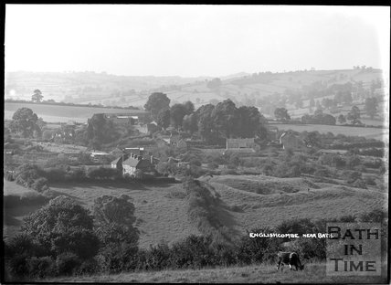 View of Englishcombe from Twerton Roundhill c.1930s