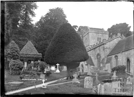 Claverton Church c.1930s