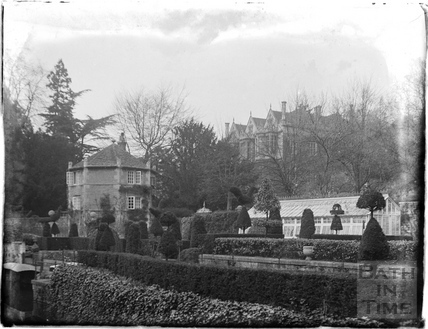 The Hall and gardens, Bradford-on-Avon c.1930s