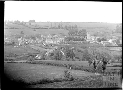 View of Wellow village, c.1930s