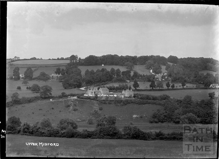 View of Upper Midford, August 1922
