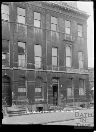 15 Johnstone Street, former residence of William Pitt, c.1920s