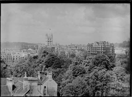 View of Abbey and Empire Hotel from Sydney Buildings c.1930s