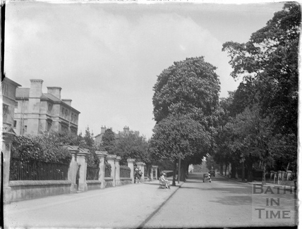 Pulteney Road looking South, c.1950