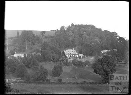 View to houses from Freshford to Murhill, c.1920s