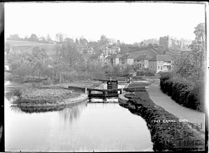 The Kennet and Avon Canal, Widcombe, Bath c.1930