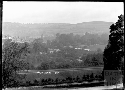 View of Grosvenor from the Warminster Road, c.1904