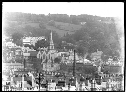 View over the rooftops to Widcombe c.1920s