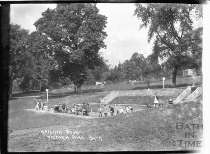 Sailing Pool, Royal Victoria Park, c.1937