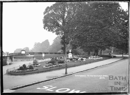 Entrance to Royal Victoria Park, c.1937