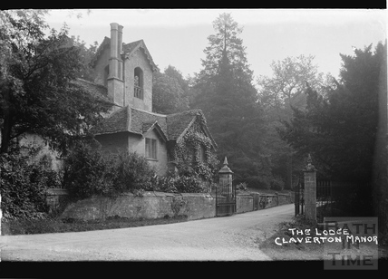 The Lodge, Claverton Manor c.1920s?