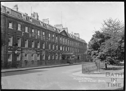 The Francis Hotel, Queen Square, 1934