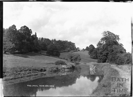 The Kennet and Avon Canal near Dry Arch, Bathampton c.1920