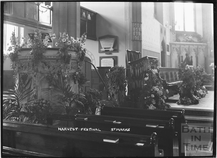 Harvest Festival, St Marks Church c.1920s