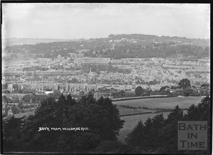 View of Bath from Widcombe Hill, c.1937