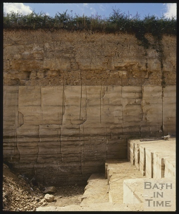 Upper Lawn Quarry, Combe Down c.1990