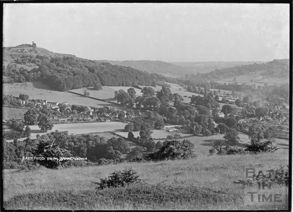 View of Bathford from Bannerdown c.1920s