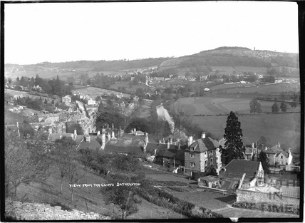 View of Batheaston from the Cliffs c.1908