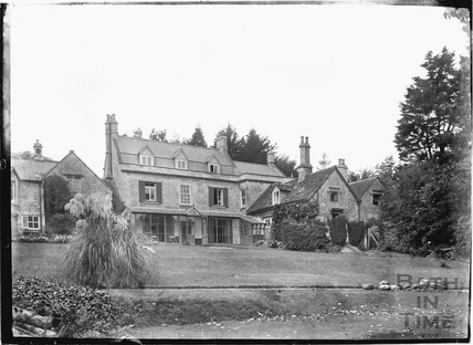 The rear of Brow Hill, Northend Batheaston c.1920s