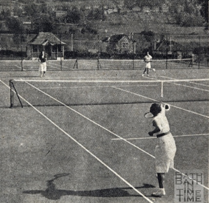 The new tennis courts at Alice Park May 1938