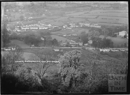 View of Lower Swainswick and Bailbrook c.1935