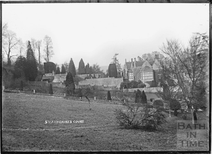 View of St Catherines Court and Garden c.1920s