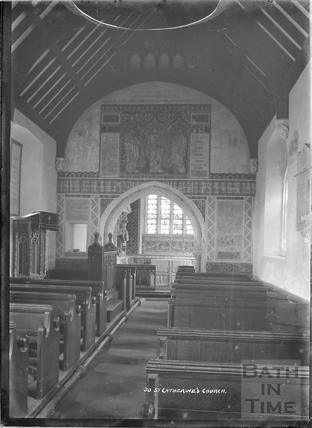 Inside the church of St Catherines No.30 c.1920