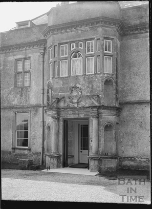 Front entrance, Hamswell House, near Battlefields c.1930s