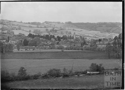 View of Batheaston, 13 May 1939