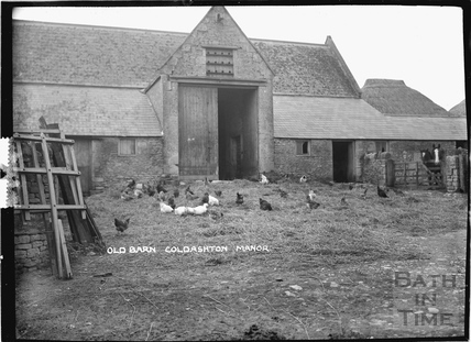 Old Barn, Cold Ashton Manor c.1920s