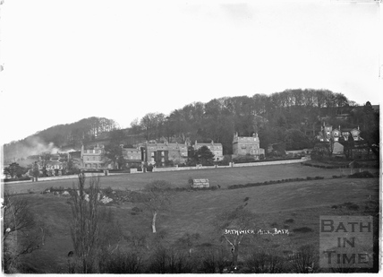View of Bathwick Hill, c.1920s