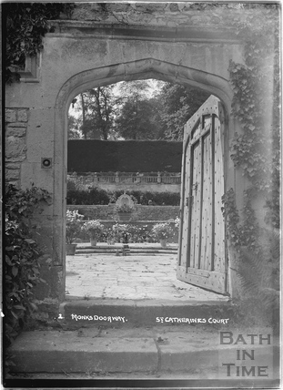 Monks Doorway, St Catherines Court No.2 c.1920s
