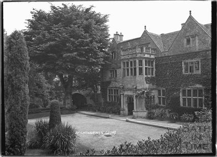 St Catherines Court viewed from the garden c.1907