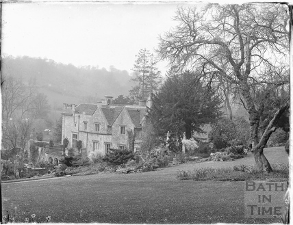 View of Iford Manor from the garden 1926