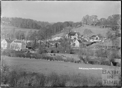 View of Farleigh Hungerford c.1920s