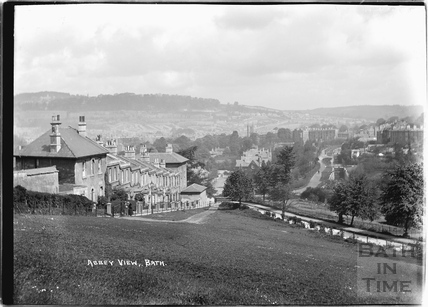 Abbey View, Widcombe, Bath c.1920
