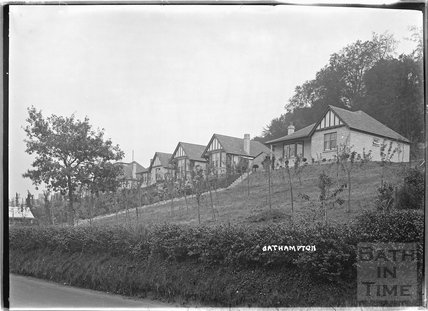 Houses in Bathampton c.1930s