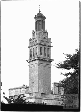 Beckford's Tower, Lansdown, Sept 1936