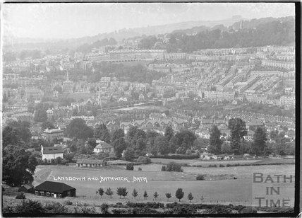 A view of Lansdown and Bathwick c.1934