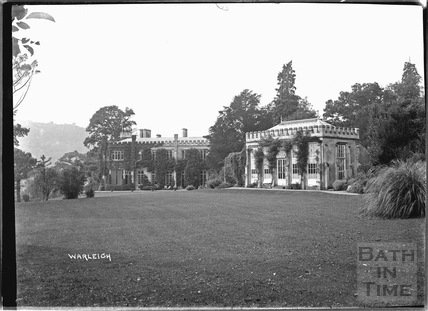 Warleigh Manor and Orangery, c.1932