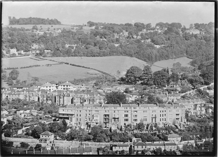 View of Widcombe Crescent from Beechen Cliff No.3 c.1920s