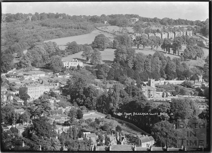 View of Widcombe from Beechen Cliff No.2 c.1937