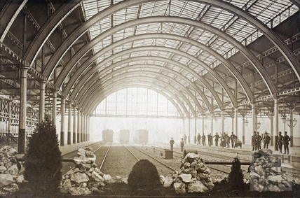 Green Park Station interior , c.1880