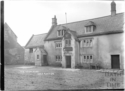The White Hart, Cold Ashton c.1936