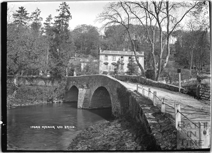 Iford Manor and bridge c.1920s